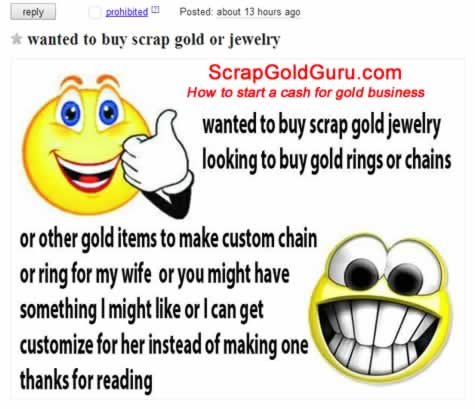 How to Start a Cash for Gold Biz